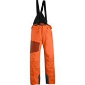 Salomon Chill Out Bib Mens Ski Pants, Orange Glow-Moab Orange, medium