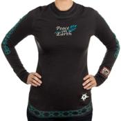 Alp-n-Rock Peace On Earth Long Sleeve Tee Womens Shirt, , medium
