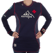 Alp-n-Rock Ski Europe Long Sleeve Reversible Womens Shirt, , medium