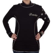 Alp-n-Rock Powder Long Sleeve Turtle Neck Womens Shirt, , medium