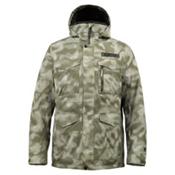 Burton TWC Cannon Mens Insulated Snowboard Jacket, Keego Jungle Dot Camo, medium
