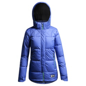 Orage Cascade Womens Insulated Ski Jacket, Blue Crush, medium