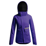 Orage Ivy Womens Insulated Ski Jacket, Iris, medium