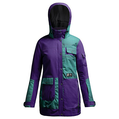 Orage Bala Womens Insulated Ski Jacket, Iris, viewer