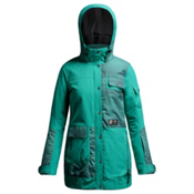 Orage Bala Womens Insulated Ski Jacket, Emerald, medium