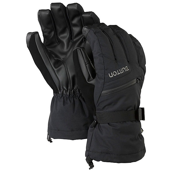 Burton Gore-Tex Touchscreen Gloves, True Black, 600