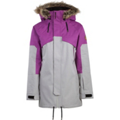 Armada Huntley Womens Shell Ski Jacket, Grey, medium
