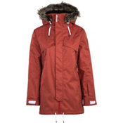 Armada Huntley Womens Shell Ski Jacket, Rust, medium