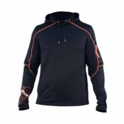 Spyder Boosted Mens Sweater (Previous Season), Black-Neon Orange, medium