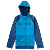 Burton Bonded Kids Hoodie, Blue Ray, medium