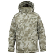 Burton TWC Cannon Boys Snowboard Jacket, Keef Jungle Dot Camo, medium
