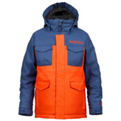 Burton TWC Cannon Boys Snowboard Jacket, Atlantic Burner, medium