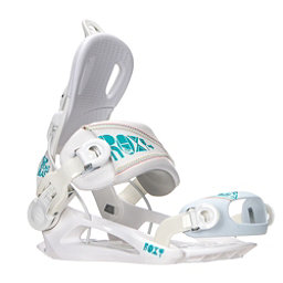 Roxy Rock-It Blast Womens Snowboard Bindings, White, 256
