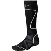 SmartWool PHD Medium Ski Socks, Black, medium