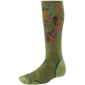 SmartWool PhD Snowboard Medium Snowboard Socks, Pesto, medium