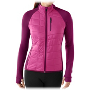SmartWool PHD Smartloft Divide Womens Mid Layer, Berry, medium