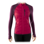 SmartWool PHD SmartLoft Divide Womens Mid Layer, Persian Red, medium