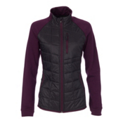 SmartWool PHD SmartLoft Divide Womens Mid Layer, Aubergine, medium