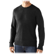 SmartWool Pagoda Crew Mens Sweater, Charcoal Heather, medium