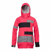 Roxy Sloan Womens Insulated Snowboard Jacket, Bright Rose, medium