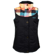 Roxy Dice Womens Vest, Rustic Check, medium