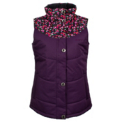 Roxy Dice Womens Vest, Blackberry Cordial, medium
