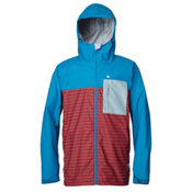 Quiksilver Show All Mens Shell Snowboard Jacket, Celestial, medium