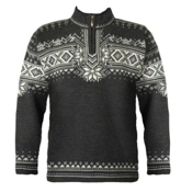 Dale Of Norway Anniversary Mens Sweater, Dark Charcoal-Off White-Smoke, medium
