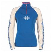Dale Of Norway Geilo Womens Sweater, Cobalt-Offwhite-Allium, medium