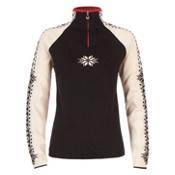 Dale Of Norway Geilo Womens Sweater, Navy-Off White-Raspberry, medium