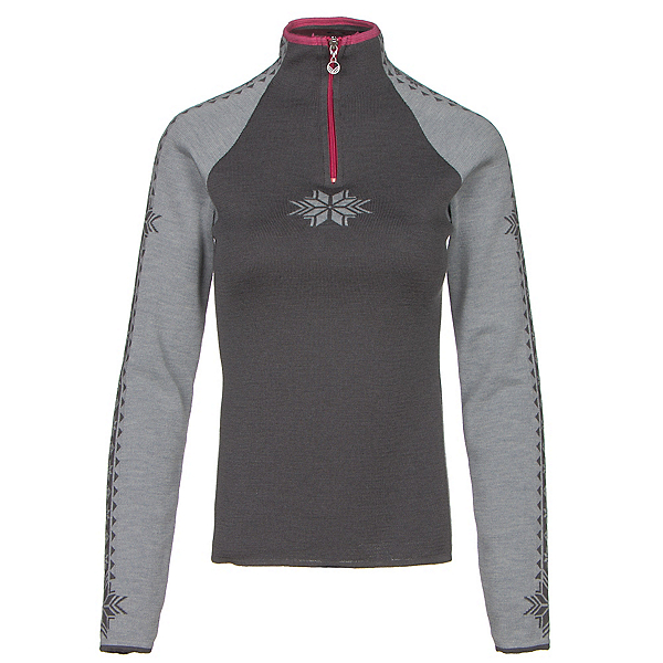 Dale Of Norway Geilo Womens Sweater, Metal Grey-Schiefer-Allium, 600