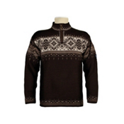 Dale Of Norway Blyfjell Mens Sweater, Coffee-Mountainstone-Off White, medium