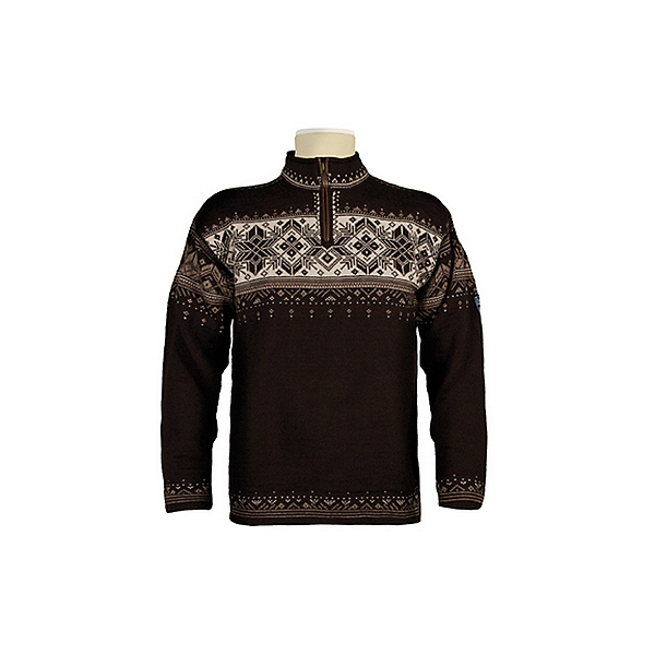 Dale Of Norway Blyfjell Mens Sweater, Coffee-Mountainstone-Off White, 600