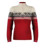 Dale Of Norway St. Moritz Womens Sweater, Raspberry-Allium-Black-Offwhit, medium