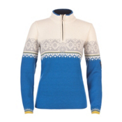 Dale Of Norway St. Moritz Womens Sweater, Cobalt-Metal-Antique Moss-Offw, medium