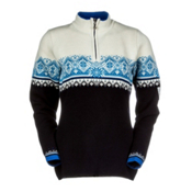 Dale Of Norway St. Moritz Womens Sweater, Marine-Cobalt-Off White-Sochi, medium