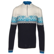Dale Of Norway St. Moritz Feminine Womens Sweater, Marine-Cobalt-Off White-Sochi, medium