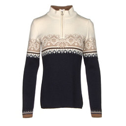 Dale Of Norway St. Moritz Feminine Womens Sweater, Navy-Off White-Bronze Melange-, 256