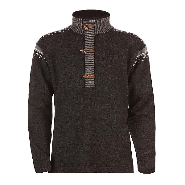 Dale Of Norway Finnskogen Windproof Mens Sweater, Dark Charcoal-Smoke-Off White, 600