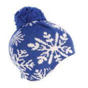 Dale Of Norway Snowflake Womens Hat, Cobalt-Off White, medium