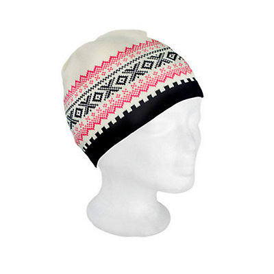 Dale Of Norway Kongsvollen Hat, Navy-Off White-Rasberry, viewer