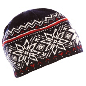 Dale Of Norway Holmenkollen Hat, Navy-Off White-Red Rose, medium
