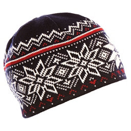 Dale Of Norway Holmenkollen Hat, Navy-Off White-Red Rose, 256