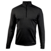 Hot Chillys Chamois Panel Zip-T Mens Long Underwear Top, , medium