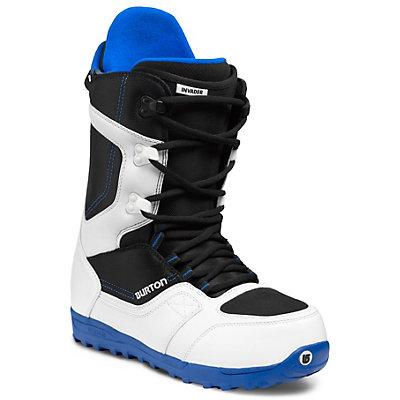 Burton Invader Snowboard Boots, White-Black-Blue, viewer