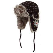 Turtle Fur Tashie Womens Hat, Black, medium