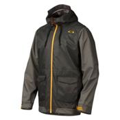 Oakley Belmont Mens Shell Ski Jacket, Jet Black, medium