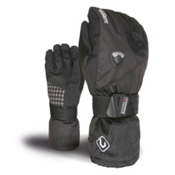 Level Fly Kids Gloves, Black, medium