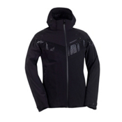 KJUS Warp Speed Mens Insulated Ski Jacket, Black-Black, medium
