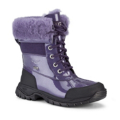 UGG Australia Butte Girls Boots, Purple Velvet, medium